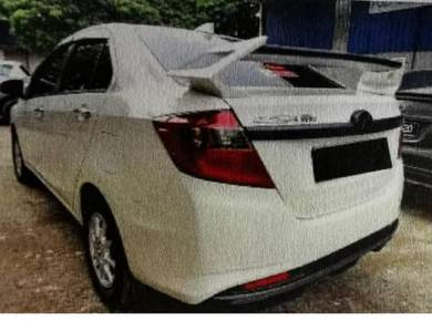 Perodua Bezza Rear Spoiler (Fiber)