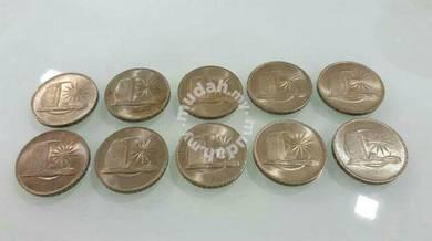 1971 Coin 1 (10 pcs) UNC