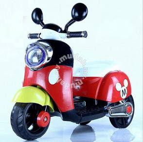 Electric scooter mickey mouse