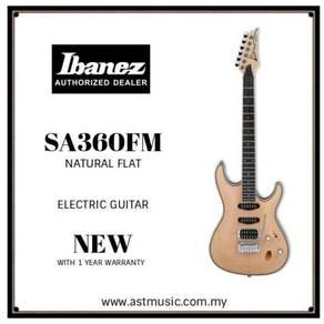 Ibanez SA360FM Natural Flat Electric Guitar-sa360