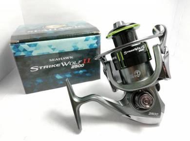 SEAHAWK STRIKE WOLF II 2500 - 6000 SW Fishing Reel