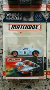 Matchbox Ford GT40 Gulf Racing Globe Travelers