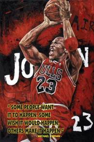 Poster NBA MICHAEL JORDON M
