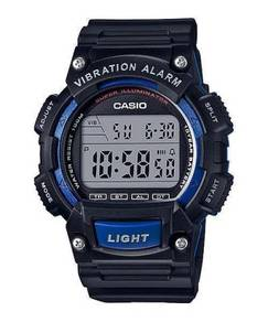 Watch - Casio Vibrate Alarm W736H-2 - ORIGINAL