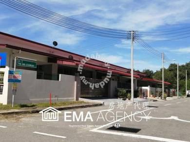Taman okk lanjugah/ 1 storey terrace/ freehold/ penampang