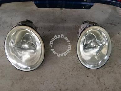 Bp2153 - volkwagen - bumper & head lamp