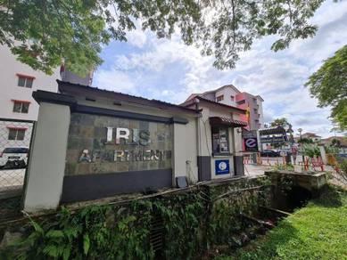 MURAH GROUND FLOOR Iris Apartment Saujana Utama CORNER UNIT