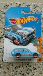 HotWheels '71 Datsun Bluebird 510 Wagon