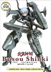 DVD ANIME BUSOU SHINKI The Animation Vol.1-13End
