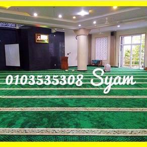Mq Carpet Masjid -Ipt Karpet Saf 12mmm