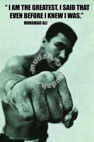 Poster MUHAMMAD ALI QUOTES BB 1