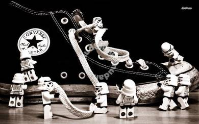 Poster STORM TROOPERS CONVERSE