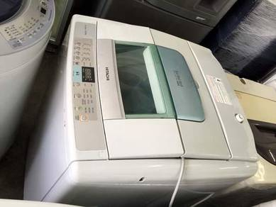 Hitachi 12kg Mesin Basuh Washing Auto Machine Top
