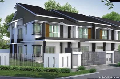 2 Tingkat Rumah 22''x75'' at Gadong Jaya