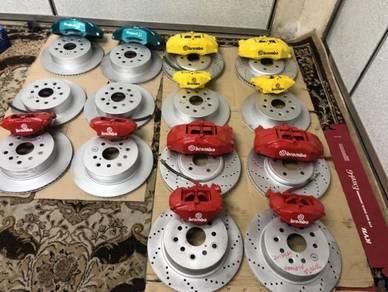 Brake disc 4pot ori japan