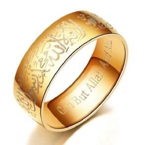 Muslim Muslimah Ring Cincin Islam Allah bracelet 3