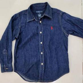 Ralph Lauren Cotton Denim Shirt - 5T