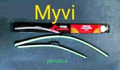 Hks white silicone wiper proton perodua Honda p&p