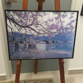 Puzzle with glass frame - japan