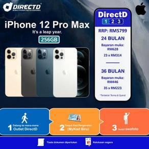 APPLE iPhone 12 PRO MAX 256 -ANSURAN tanpa DOKUMEN