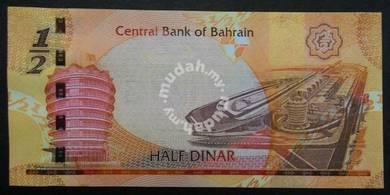 Bahrain Half Dinar Bank Note