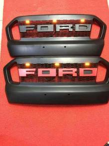 Ford ranger front grill grille with led t7