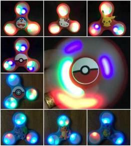 Pokemon Hello Kitty LED Fidget Spinner