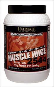 Muscle juice susu protein weight gain naik berat