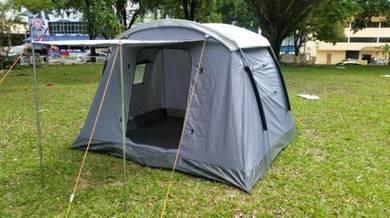 Khemah Wira 4 Persons Tent