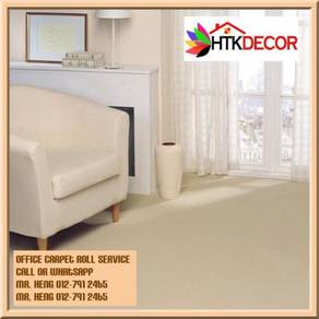 Office Carpet Roll Modern With Install d119