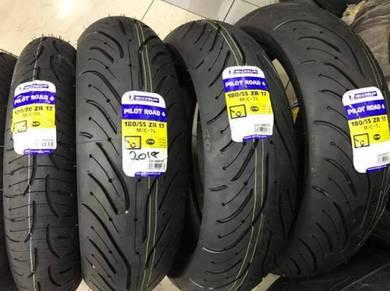 Michelin Pilot Road 4 ~ Ready Stock ~KHM Kian Huat