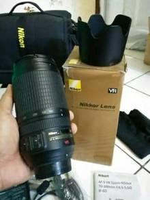 Nikon Lens 70-300mm