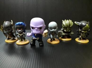 Tesco Avengers Custom Thanos Team Set6 neca marvel