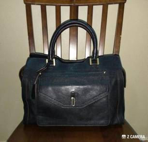 Shoulder/ Tote Bag Leather Anne Klein