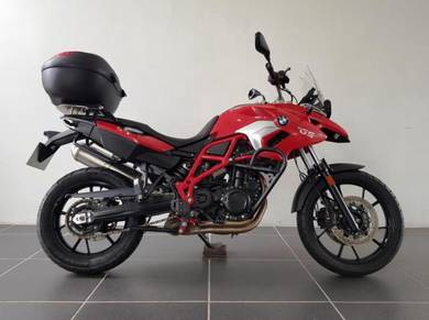 Bmw f700gs mt07 z650 versys tracer