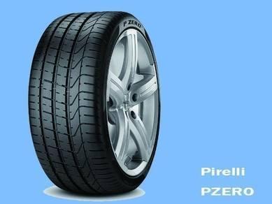 PIRELLI P ZERO PZERO 295/40/20 new tyre tayar 20