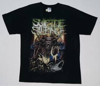 Suicide Silence Band Shirt (SIZE L)