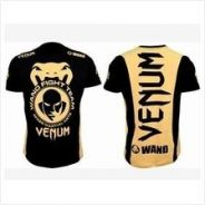 UFC MMA VENUM yellow wand Shirt ( baju)