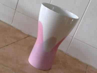 Pasu vintage noritake pink vase