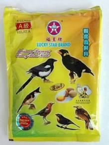 Lucky Star Makanan Burung A Class 500gram Hancur