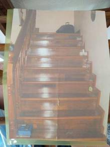 Staircase Wooden Railing / Tangga Kayu