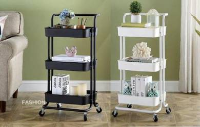 Kltn -3 Tier Trolley Storage Rack