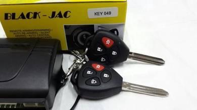13 pin car alarm with builtin relay