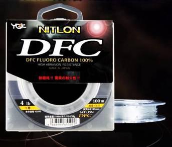 Japan ygk dfc 100% fluorocarbon 100m