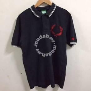 Punk Drunkers Black Polo Shirt Size XL