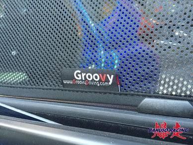 Groovy Custom Fit Shades TOYOTA VIOS 2013