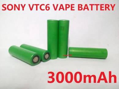 Sony VTC6 18650 high drain Vape Battery 3000mAh