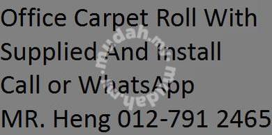 New Design Carpet Roll - with install 7m3n