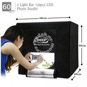 DEEP LED Photography Studio Light Box - 60*60cm