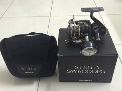 13' SHIMANO STELLA SW 4000- 30000 Fishing Reel